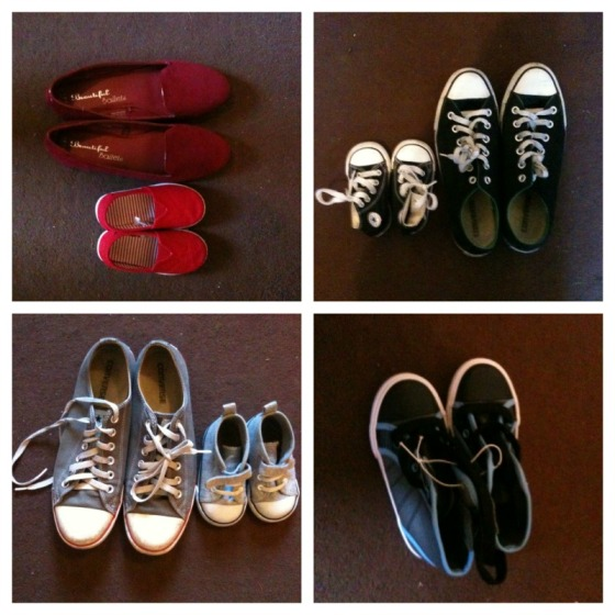 Mother and Baby Shoes