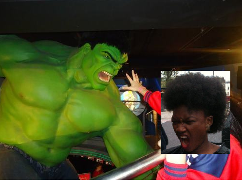 Me and the Hulk