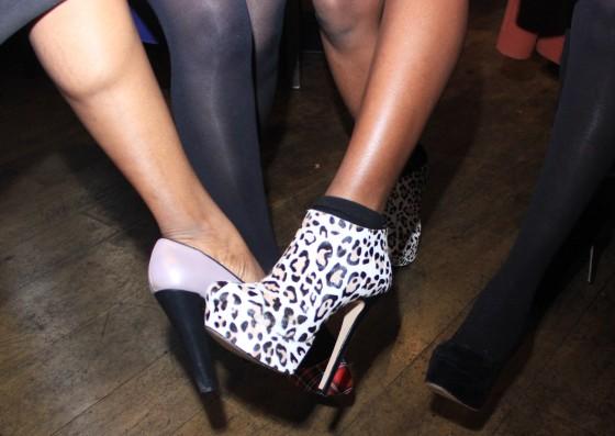 leopard skin 6 inch heel